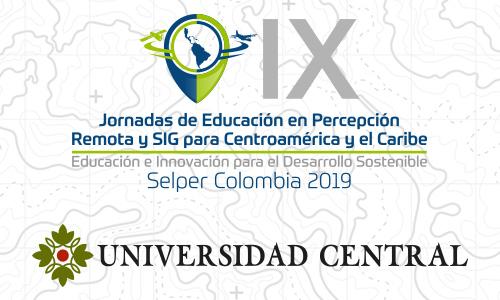IX Jornadas de Educación en Percepción Remota y SIG para Centroamérica y el Caribe